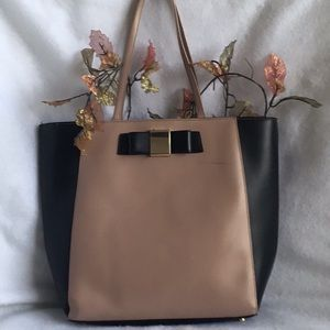 Simulated leather pocketbook by Ivanka Trump